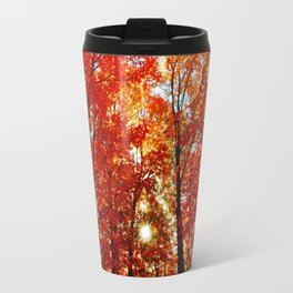 Sun in the Trees Travel Mug