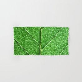 Green Vein Life Hand & Bath Towel