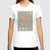 moon phases T-shirts featuring Phases of the Moon by Marilyn Foehrenbach Illustration