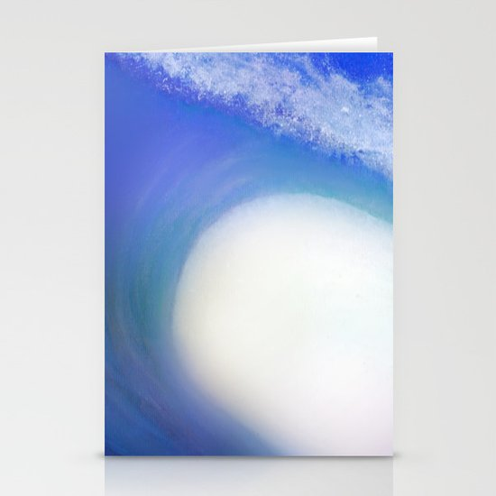 Splash Wave Stationery Cards