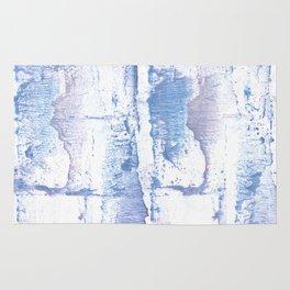 Lavender blurred watercolor design Rug