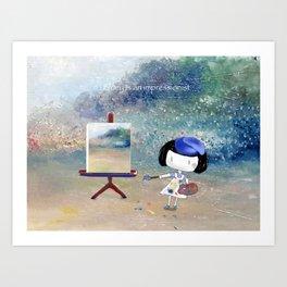 Bluey is an impressionist Art Print