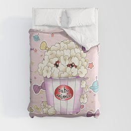 Baby mimic popcorn for dnd fans Comforters
