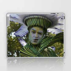 flower man Laptop & iPad Skin