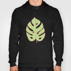 Green Monstera Leaves Unique Pattern Hoody