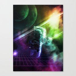 Virtual Space Canvas Print