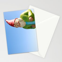 Giant Garden Gnome Stationery Cards