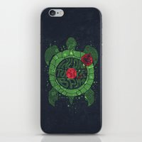 springsteen iPhone & iPod Skins featuring On Turtle BPM by Sitchko Igor