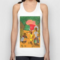 book cover Tank Tops featuring Kilalu book cover by Vincent Poe