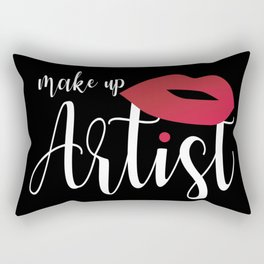 Make Up Artsit Rectangular Pillow