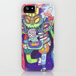 Kuri and the Kaiju iPhone Case