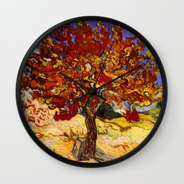 Vincent Van Gogh Mulberry Tree Wall Clock