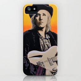 Tom Petty Tribute Mural #3 Birthday Bash 2019 Gainesville Florida iPhone Case