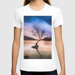 Llanberis Lake Tree T-shirt