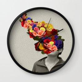 Flowerhead Wall Clock