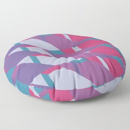 Abstract Drama #society6 #violet #pattern Floor Pillow