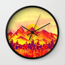 Landscape #05 Wall Clock