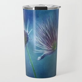 spring pasque flower Travel Mug