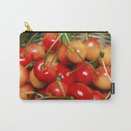 Cherries in a Basket Close Up Carry-All Pouch