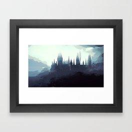 Harry Potter - Hogwarts Framed Art Print