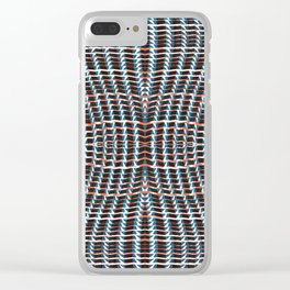 apparel twists Clear iPhone Case
