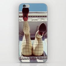 Pin up girl iPhone & iPod Skin