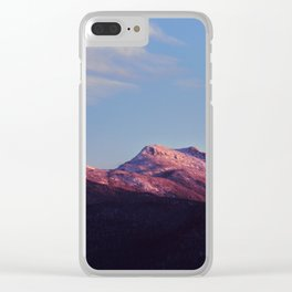 Mount Mansfield Clear iPhone Case