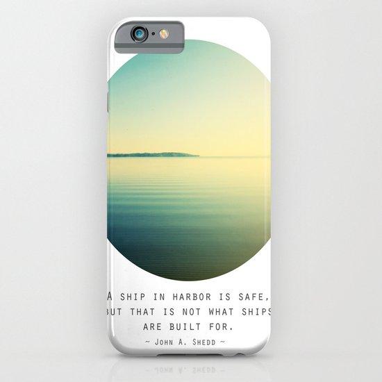A Ship iPhone & iPod Case