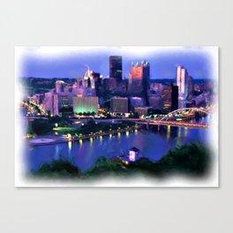Three Rivers Canvas Print