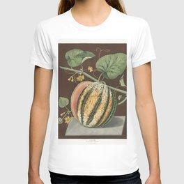 Scarlet Flesh Romana Melon (Cucumis) (1812) by George Brookshaw T-shirt