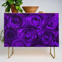 Violet Roses Credenza