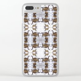 Chicago Geese 1 Clear iPhone Case