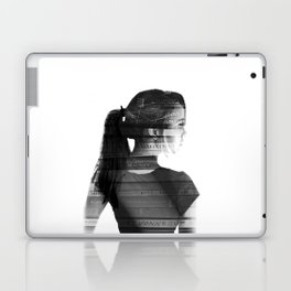 She was lost in her longing to understand. Laptop & iPad Skin