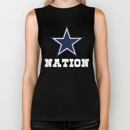 Dallas Nation Shirt - Gift For Dallas Fans Biker Tank