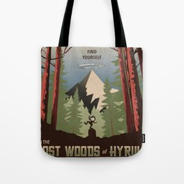 Legend of Zelda- Find Yourself in the Lost Woods Tote Bag