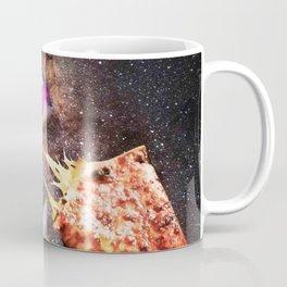 Galaxy Axolotl On Pizza - Space Axolotl Coffee Mug