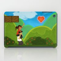 gaming iPad Cases featuring Co-Op Gaming by CazArts