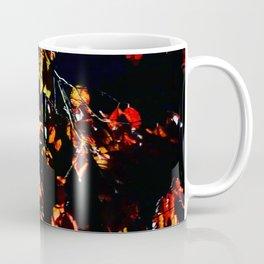 Red Leaves Coffee Mug