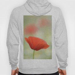 Dream red poppy. Hoody
