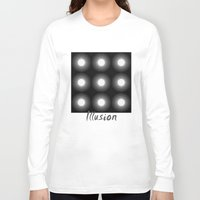 illusion Long Sleeve T-shirts featuring Illusion by DagmarMarina