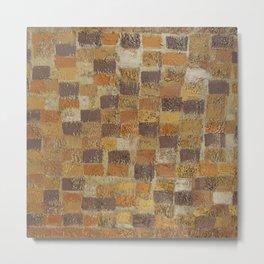 Brick Road Metal Print