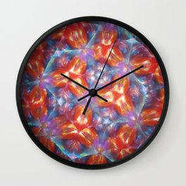 Kelidoscope blur Wall Clock