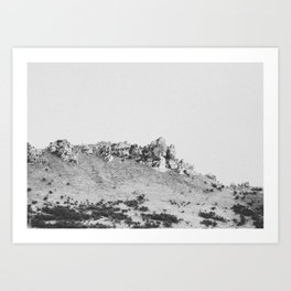 CASTLE HILL / New Zealand Art Print
