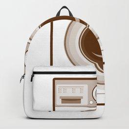 Retro Washing Machine Backpack
