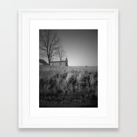 indiana Framed Art Prints featuring indiana by Britannie Bond