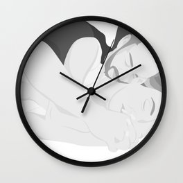 I've Been Wasting All These Nights Trying To Keep You Off My Mind Wall Clock