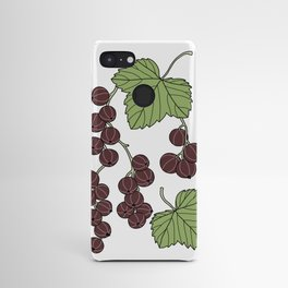 Black Currants Android Case