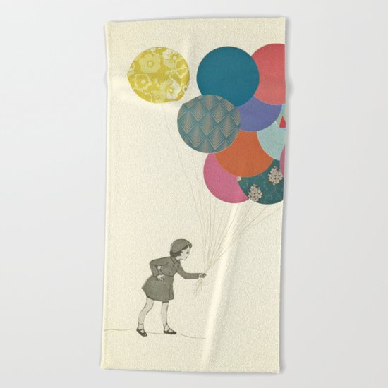 Party Girl Beach Towel