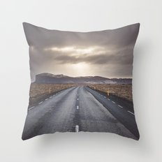Route 1 Throw Pillow