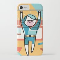 crossfit iPhone & iPod Cases featuring Crossfit by Jack Hornady Illustrations
